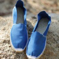 Эспадрильи мужские синие фото