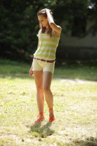 Екатерина в эспадрильях-бабочках фото