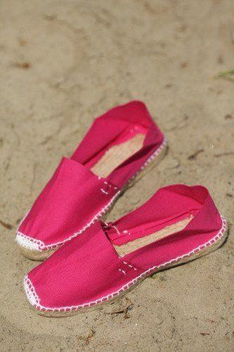 Розовые женские эспадрильи купить фото