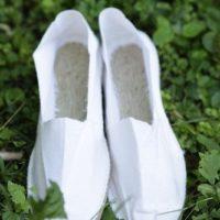Белые мужские эспадрильи купить фото