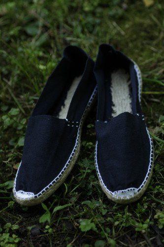 Эспадрильи мужские купить тёмно-синие фото
