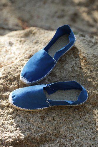 Купить женские эспадрильи синие с бесплатной доставкой по России фото